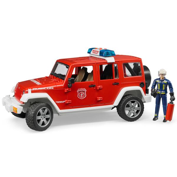 Bruder Jeep Rubicon Fire Rescue with Fireman