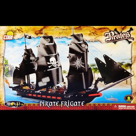 COBI Pirate Frigate Set
