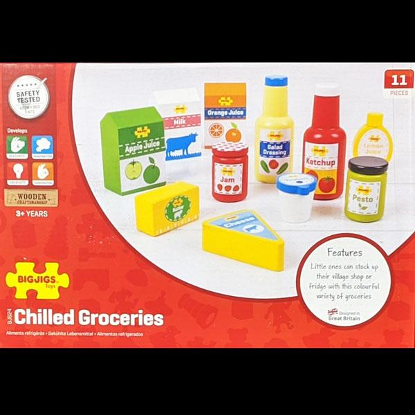 Chilled Groceries Play Food Set