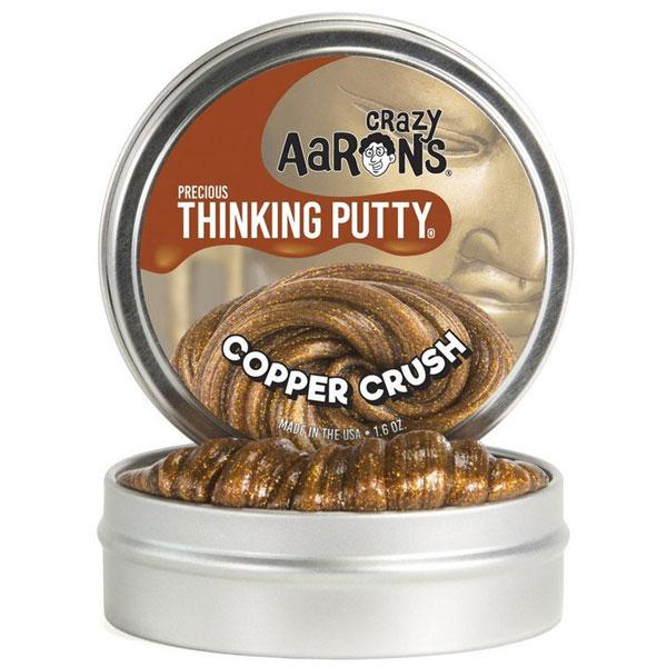 Copper Crush Metallic Thinking Putty