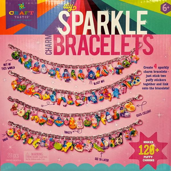 DIY Sparkle Charm Bracelets Kit