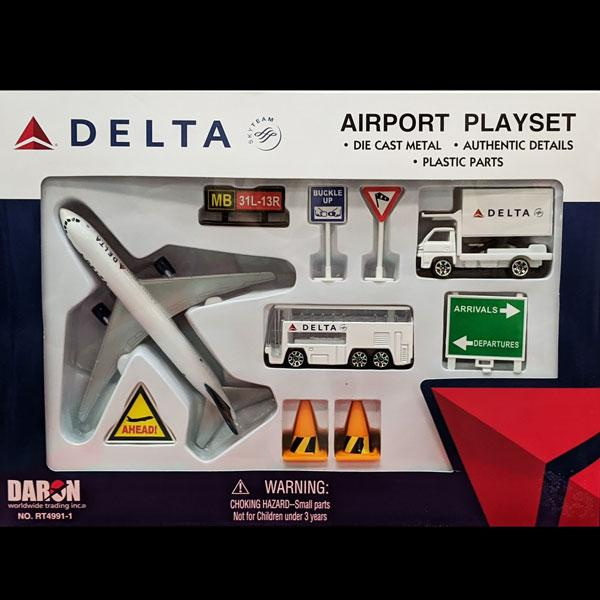 Delta Airlines Airport Playset