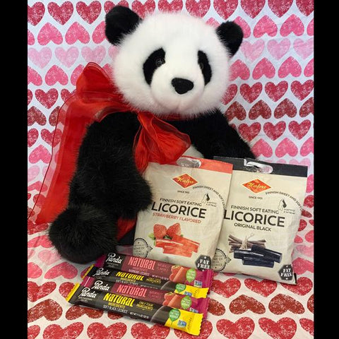 Deluxe Licorice Lovers Valentines Bundle