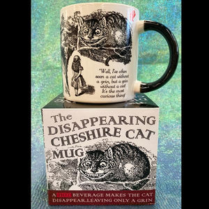 Disappearing Cheshire Cat Ceramic Mug
