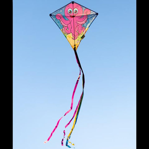 Eddy Octopus 27in Diamond Kite
