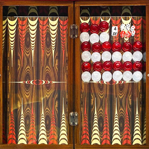 Elegance Backgammon Checkers Set