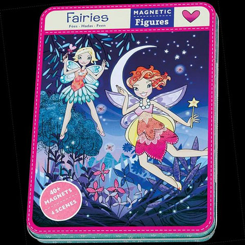 Fairies Magnetic Dress Up Tin