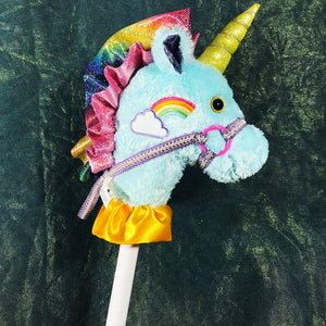 Fancy Prancer Unicorn Stickhorse