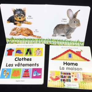 French/English Board Book Set