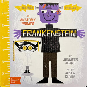 Little Miss Shelley Frankenstein Board Book
