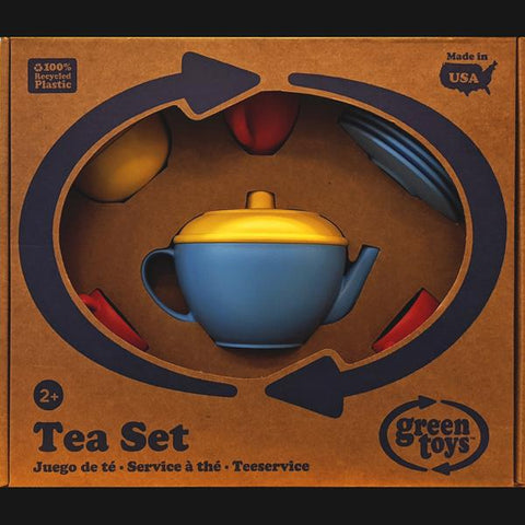 Green Toys Tea Set (Blue/Red)