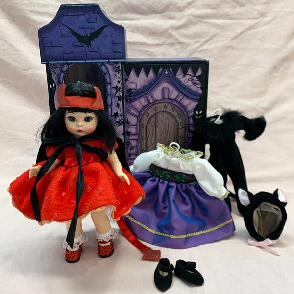 Haunted Delight Halloween Trunk Doll
