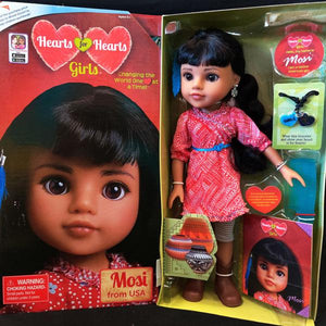 Hearts for Hearts Dolls - Mosi from USA