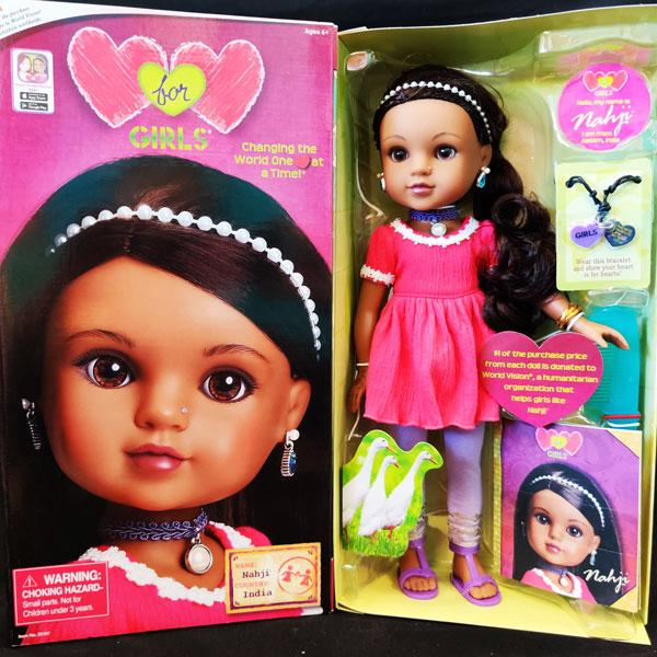 Hearts for Hearts Dolls - Nahji from India