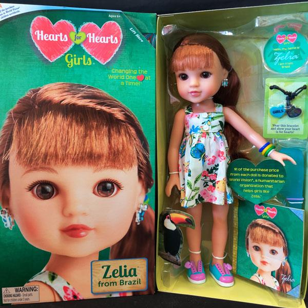 Hearts for Hearts Dolls - Zelia from Brazil