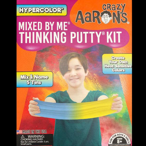 Hypercolor Mixed By Me Thinking Putty Kit