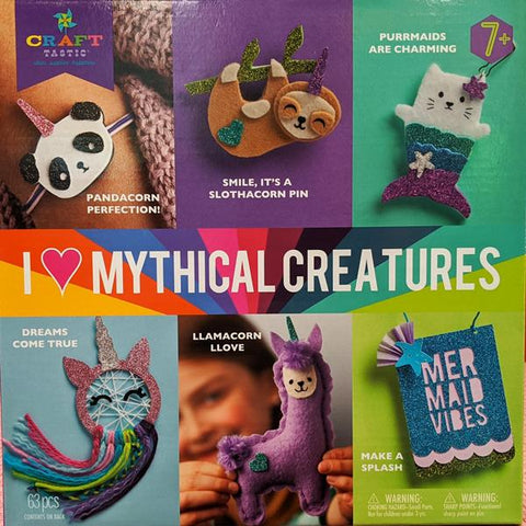 I Love Mythical Creatures Project Kit