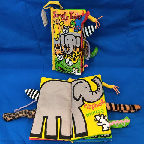 Jungly Tails Cloth Book (0+)