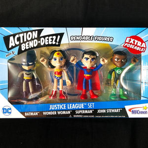Justice League Bendable Action Figures