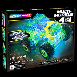 Laser Pegs Multi-Models Mega Truck (4-in-1)