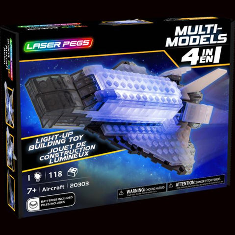 Laser Pegs Aircraft Build Kit