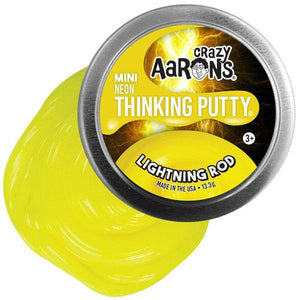 Lightning Rod Neon Mini Tin Thinking Putty