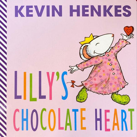 Lilly's Chocolate Heart Board Book
