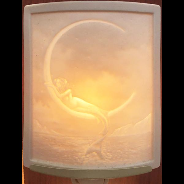 Mermaid & Moon Night Light