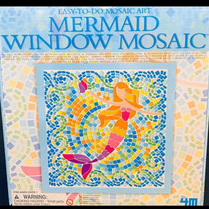 Mermaid Window Mosaic Art Kit