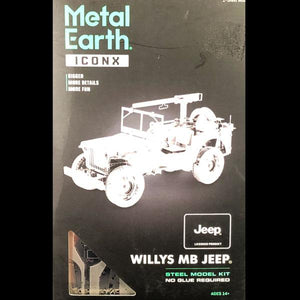 Metal Earth - Willys MB Jeep
