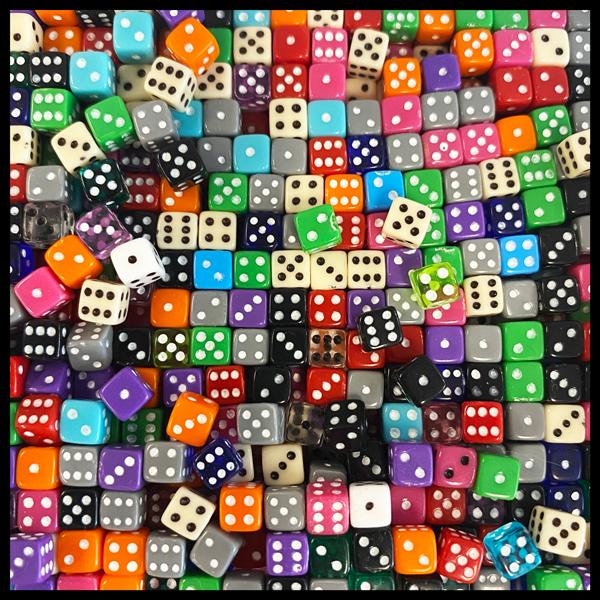 Mini Dice Bundle 100pc.