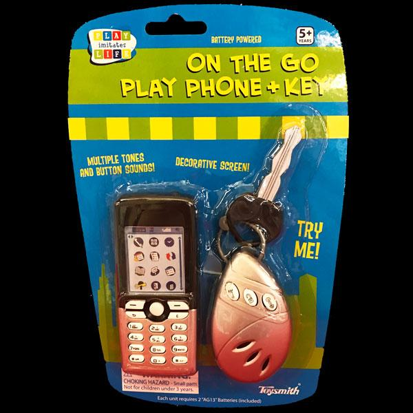 On the Go Play Phone & Key