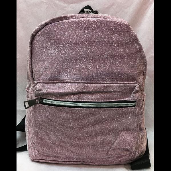 Pink Sparkly Backpack