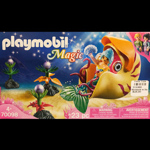 Playmobil Mermaid w/Snail Gondola