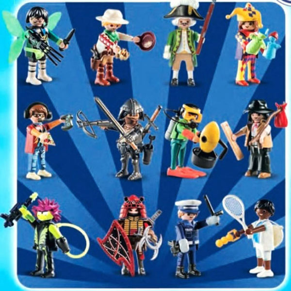 Playmobil Fi?ures Boys Blind Bag (Series 17)