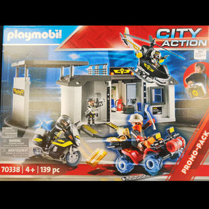 Playmobil Tactical Unit Headquarters