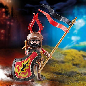 Playmobil Burnham Raiders Captain Figure