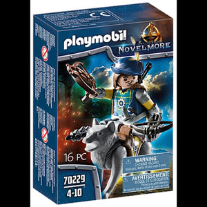 Playmobil Crossbowman with Wolf