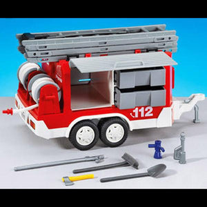 Playmobil Fire Trailer