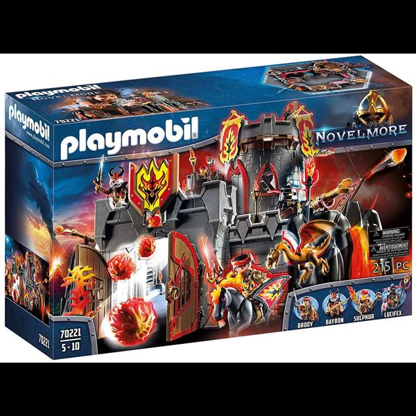 Playmobil Flamerock Fortress