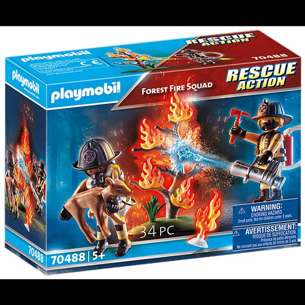 Playmobil Forest Fire Fighter