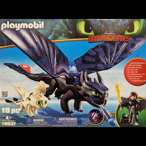 Playmobil Hiccup & Toothless Playset
