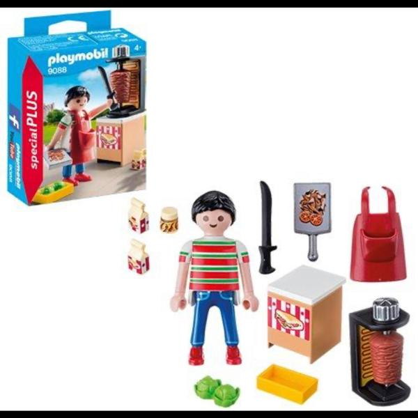 Playmobil Kebab Vendor