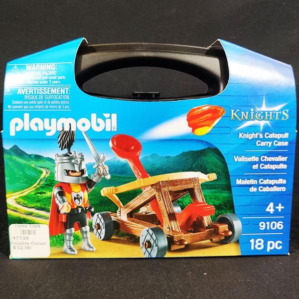 Playmobil Knights Catapult Carry Case