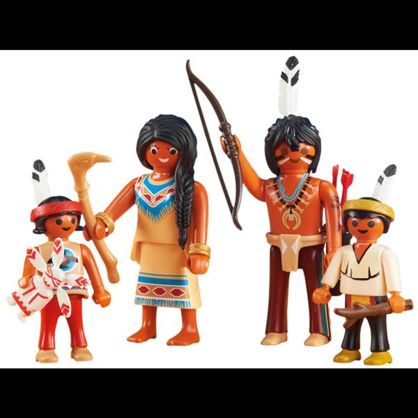 Playmobil Native American Family