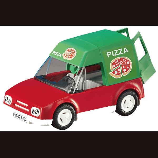 Playmobil Pizza Delivery Car