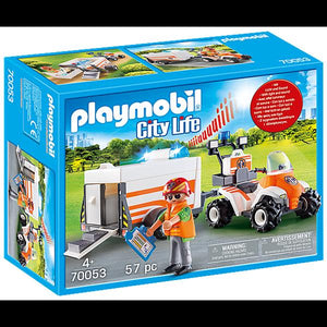 Playmobil Rescue Quad with Trailer