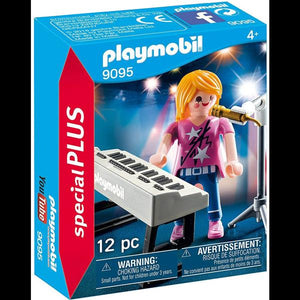 Playmobil Singer with Keyboard
