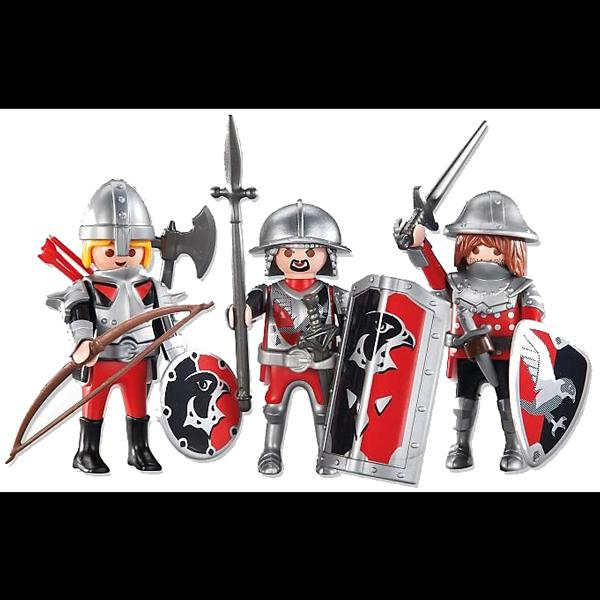 Playmobil Three Hawk Knights