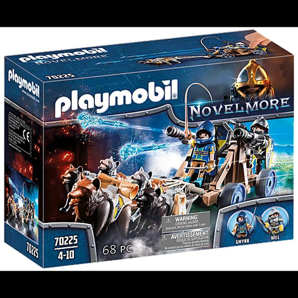 Playmobil Wolfhaven Knights Water Cannon